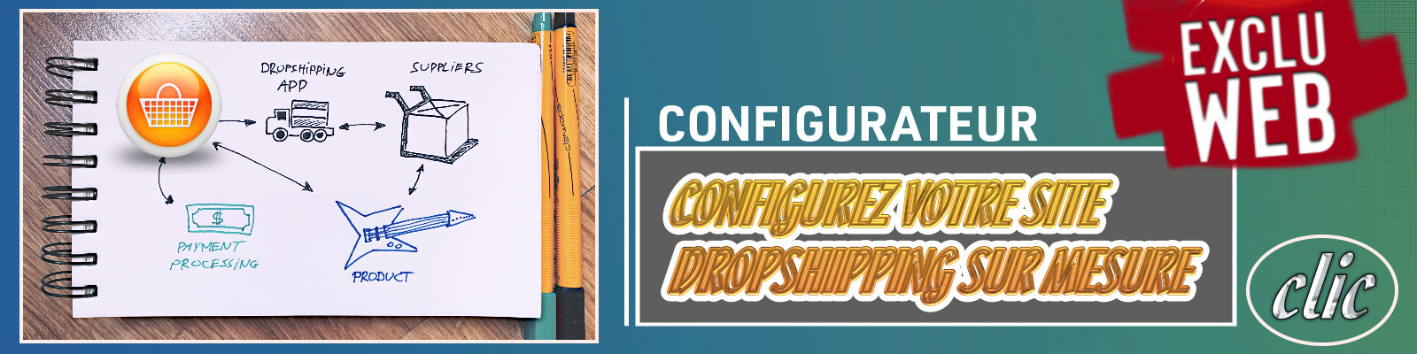Cr�ation Boutique Dropshipping Sur Mesure En MULTI FOURNISSEUR